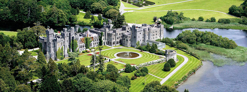 North West of Ireland Accommodation - Ashford Castle